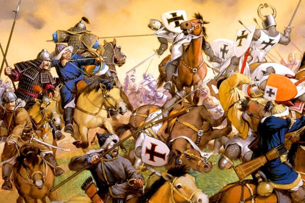 Нашествие монголов на Европу