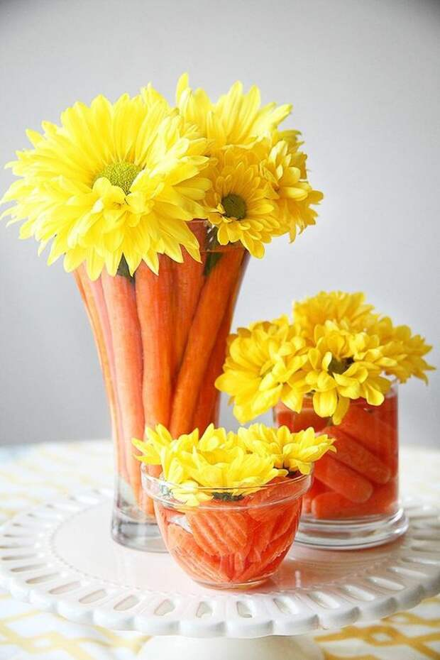 Букеты... с морковкой (трафик)