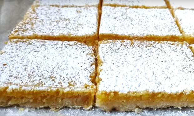 Лимонное печенье без заморочек