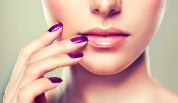 обветренные губы