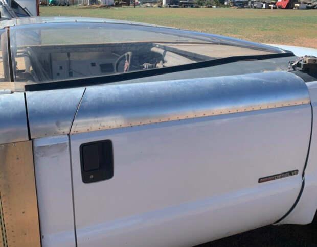 Пикап Ford F-250 превратили в аэродинамическую трубу для бедных