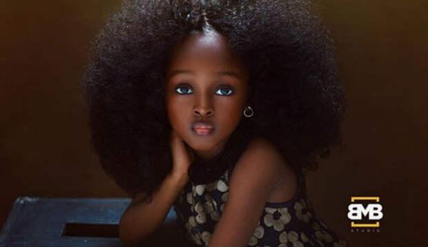 Самой красивой девочкой мира стала 5-летняя малышка из Нигерии