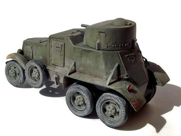 БАИ — родоначальник семейства первых советских легких и средних бронемашин