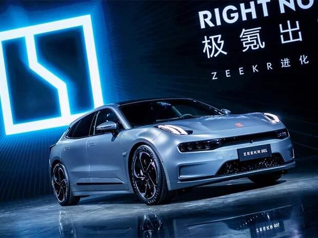 Суббренд концерна Geely из Китая показал свой первый электромобиль