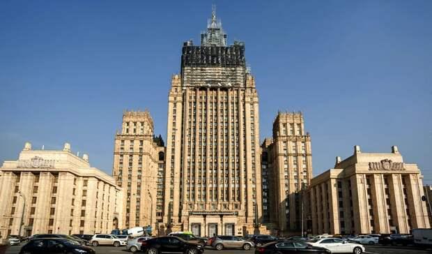В МИД РФ назвали заявления США о санкциях против Ирана «театральной постановкой»