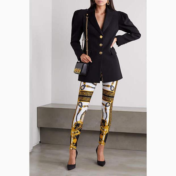 Легинсы на смену джинсам – с чем носить самую популярную вещь карантина?