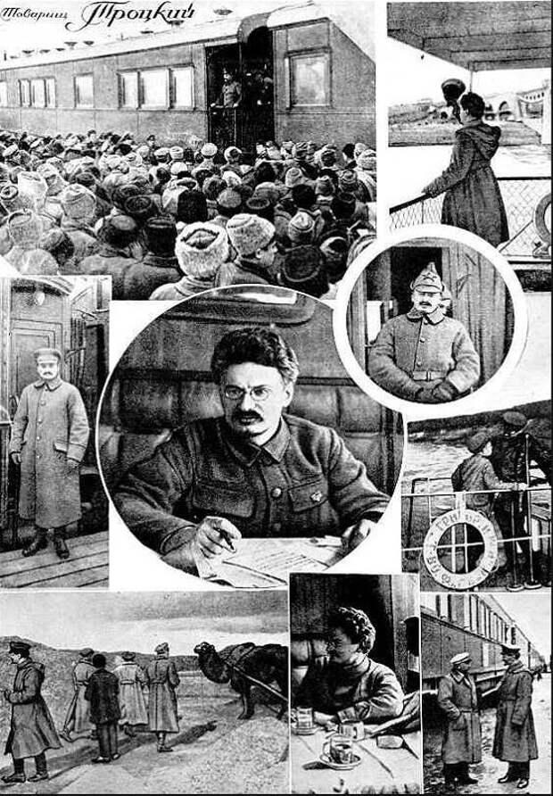Заклятые друзья Ленин и Троцкий были искренни друг с другом даже в лютых спорах