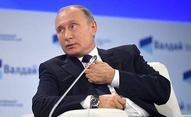 Школьник попросил Путина стать его подписчиком