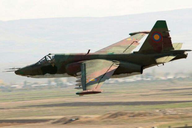 Азербайджан сообщил о столкновении Су-25 ВВС Армении с горой