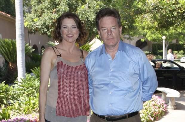 Люси Лоулесс и Роберт Таперт, 2009 г.