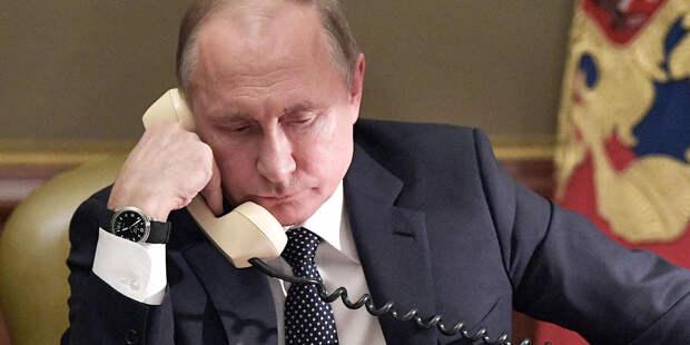 У Путина состоялся разговор с канцлером Австрии