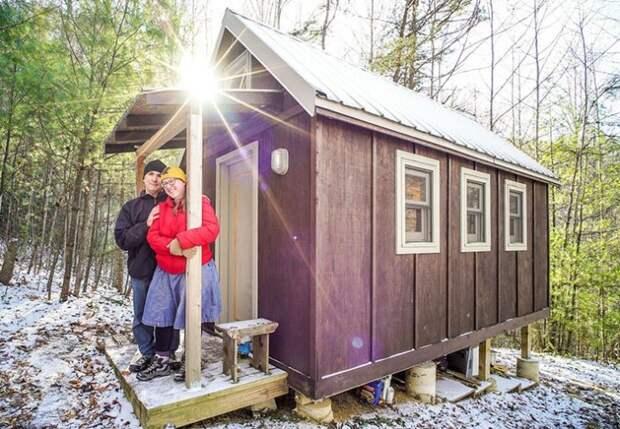 Крошечные домики для дачи