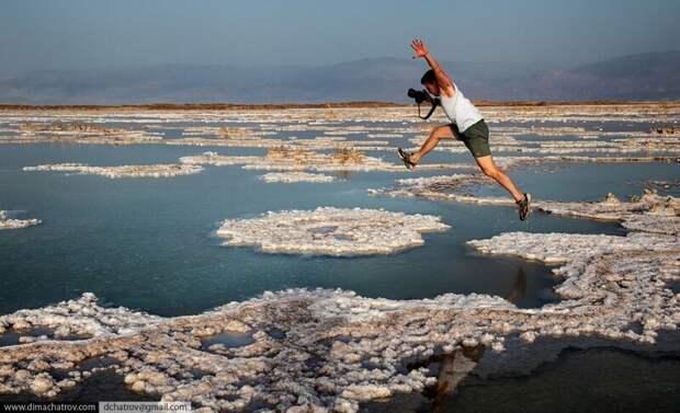 Из первых уст: солончаки Мёртвого моря