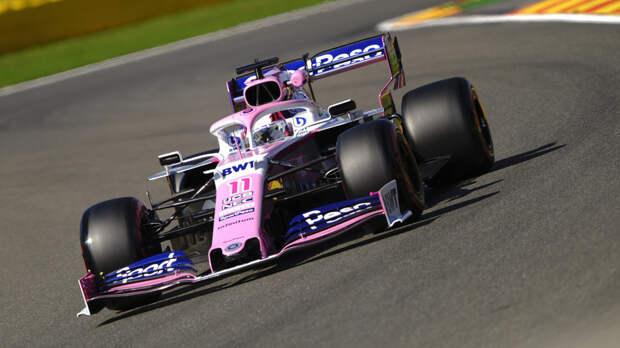 Команда «Формулы-1» Racing Point объявила о продлении контракта с мексиканским гонщиком Пересом