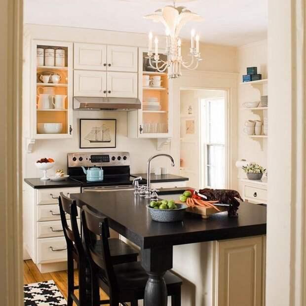 Современная кухня - как сэкономить пространство