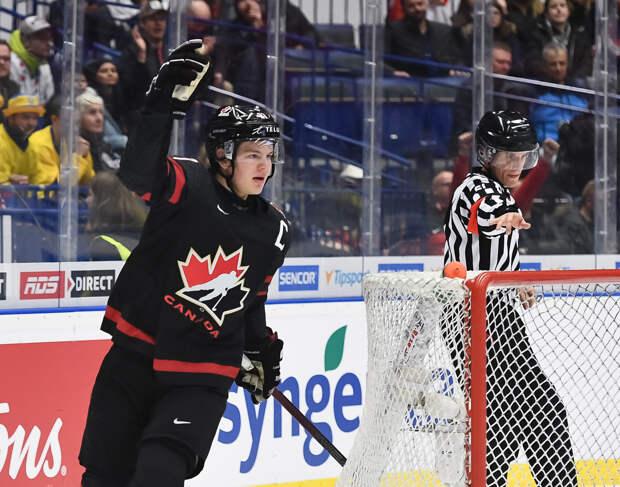 Сборная России уступила канадцам в финале молодежного ЧМ 2020 года