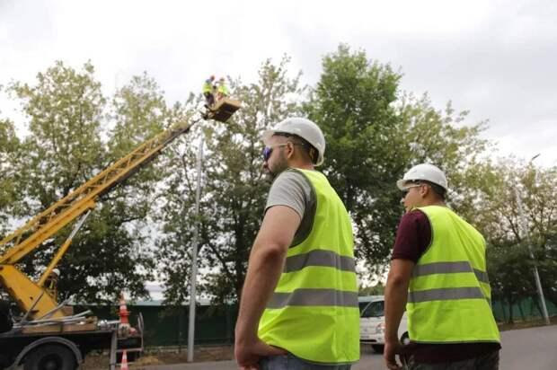 Новые уличные фонари появятся в Выхине-Жулебине в сентябре