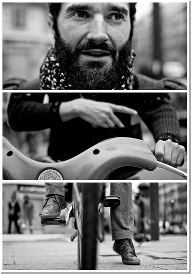 Stranger #7: The Cyclist, Paris