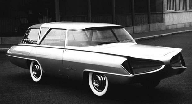Революционный концепт Selene был макетом, рассчитанным лишь на восторженное созерцание авто, автодизайн, автомобили, дизайн, интересные автомобили, минивэн, ретро авто