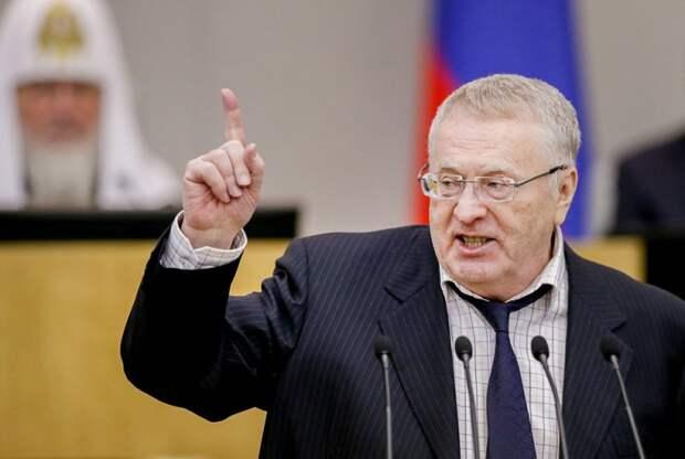 Жириновский: мы будем настаивать на разрыве договора о дружбе с Украиной