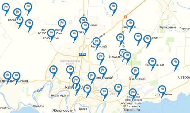 В Краснодаре появилась интерактивная карта экспозиций Генплана