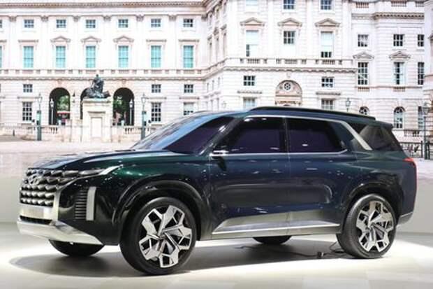 Hyundai рассекретила имя нового большого кроссовера. Он появится и в России