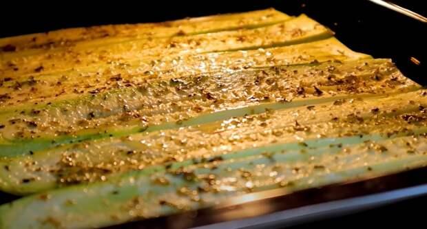 Такую лазанью вы еще не пробовали! Лазанья из нежных кабачков на обед