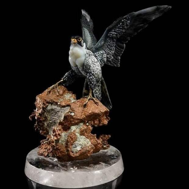 Животный мир в камне от немецкого камнереза Gerd Dreher