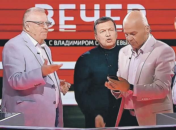 Украинец Ковтун (на фото справа) в истерике умилителен, признается телеведущий. За ним следят, как за актером театра. От этого у шоу высокие рейтинги. Фото: youtube.com