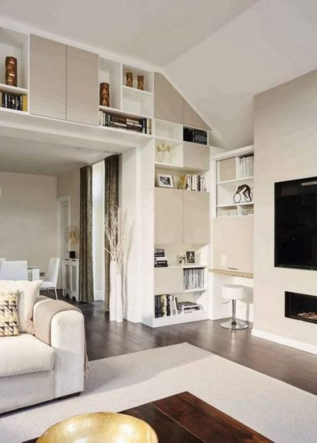 Хорошая идея для дома: «Нейтральное пространство».
