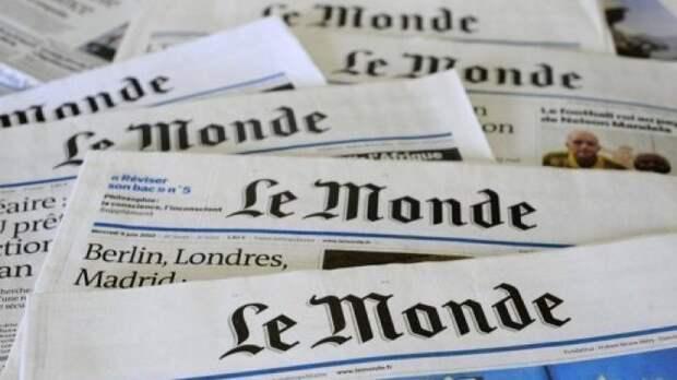 Зачем Le Monde так глупо врёт о Крыме?