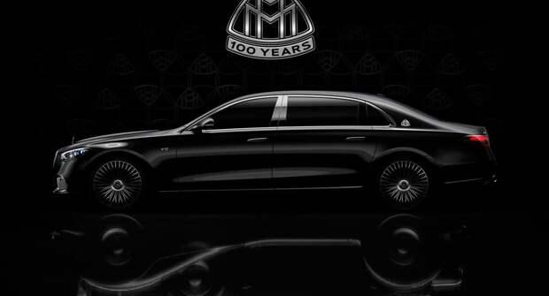Mercedes выпустит в честь столетия Maybach роскошный седан с мотором V12