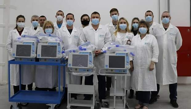 Сотрудники кабельной промышленности Мытищ производят аппараты ИВЛ на уральском заводе