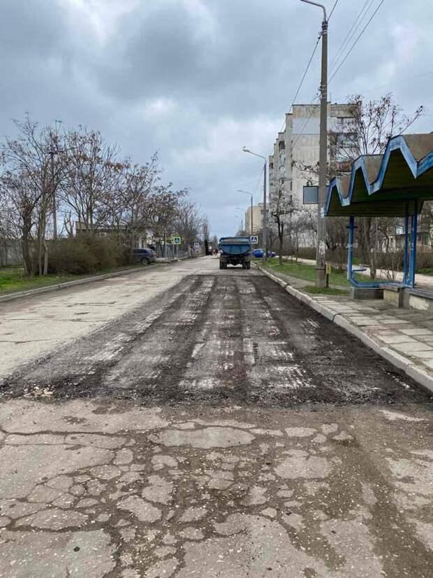 В Евпатории капитально займутся ремонтом улицы 60 лет Октября