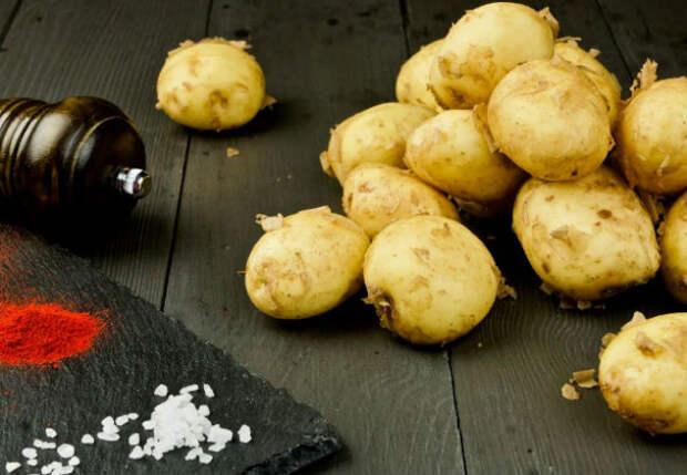 Молодая картошка: нежная и хрустящая