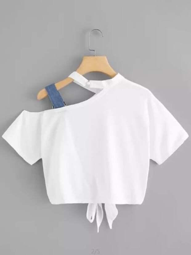 как перешить футболку
