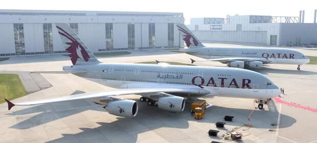 Qatar Airways первой избавляется от Airbus A380