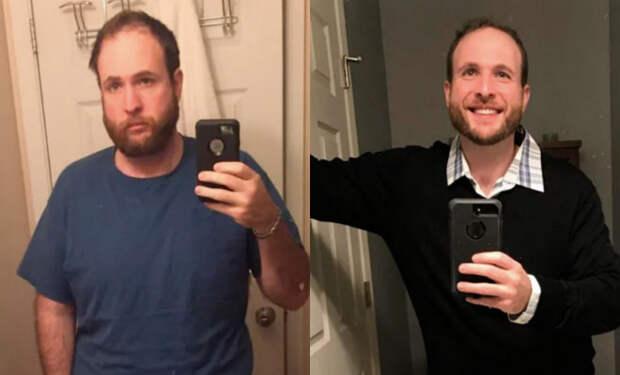 Мужчина сбросил вес на самоизоляции