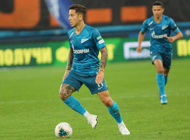 Источник: Дриусси выкупил свой контракт у «Зенита» за шесть миллионов евро