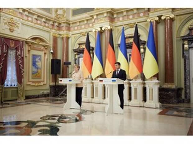 Зеленского обвинили в хамстве в адрес Меркель