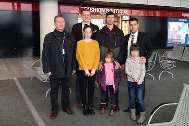 """Отец, """"выкравший"""" своих детей из Швеции, все-таки вернулся в Россию Фото: Личный архив"""