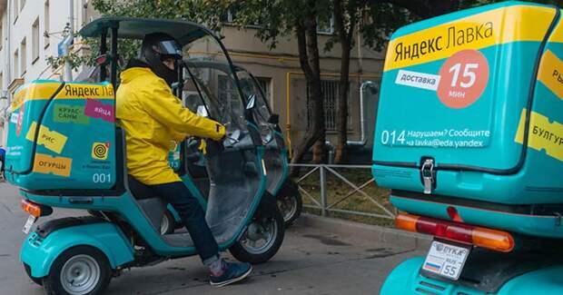Жители Хамовников пытаются выселить «Яндекс.Лавку» из жилого дома из-за курьеров