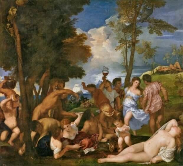 художник Тициан Вечеллио (Tiziano Vecellio) картины – 04