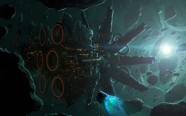 Гигантскую космическую «станцию-медузу» обнаружили в космосе
