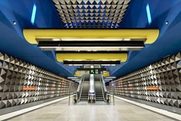 Метро Мюнхена (33 фото)