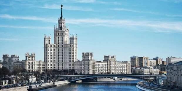 Собянин призвал москвичей соблюдать двухметровую дистанцию/mos.ru