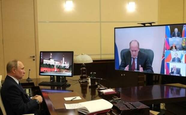 Путин провел совещание по Карабаху
