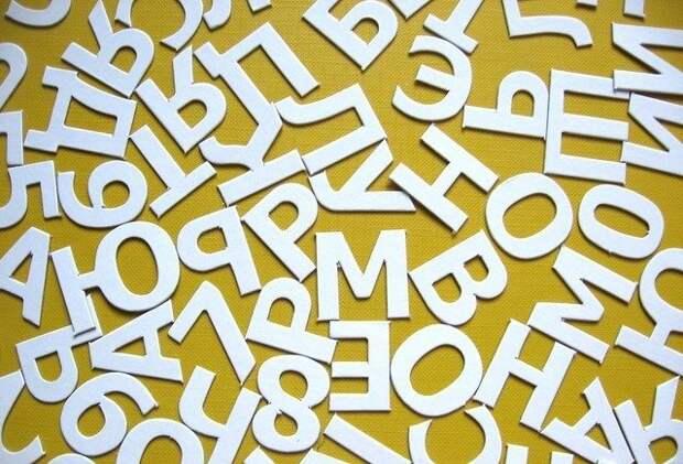 Значение букв в вашем имени
