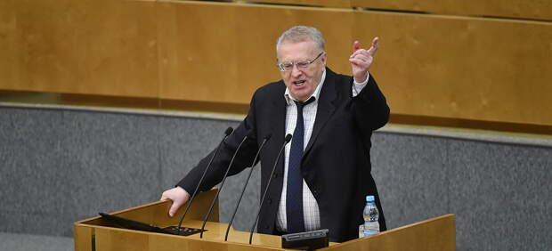 Жириновский обещает России к 2040 году статус главной мировой державы