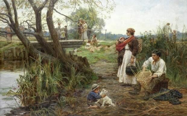 художник Фредерик Морган (Frederick Morgan) картины – 03